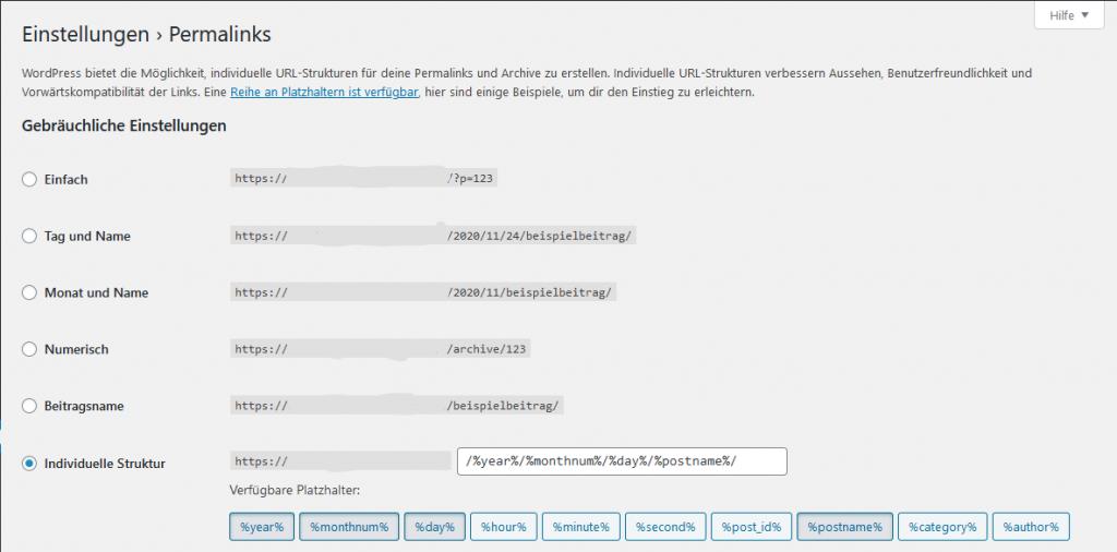 index.php entfernen